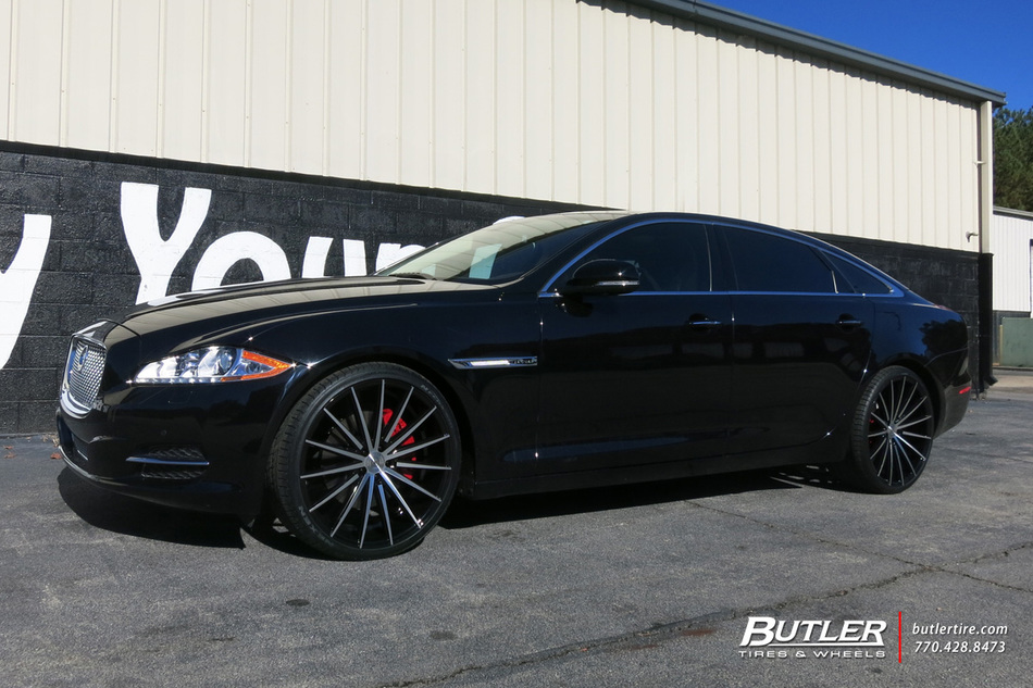 Jaguar Xj With 22in Lexani Pegasus Wheels Exclusively From