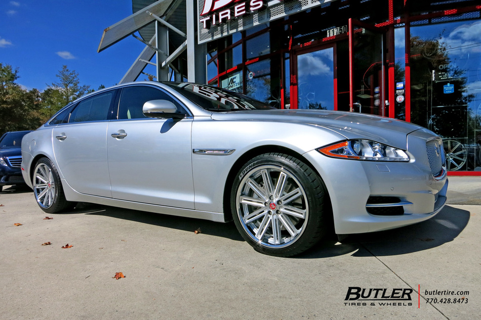 Acura Of Warwick >> Jaguar XJL with 20in Coventry Warwick Wheels exclusively from Butler Tires and Wheels in Atlanta ...