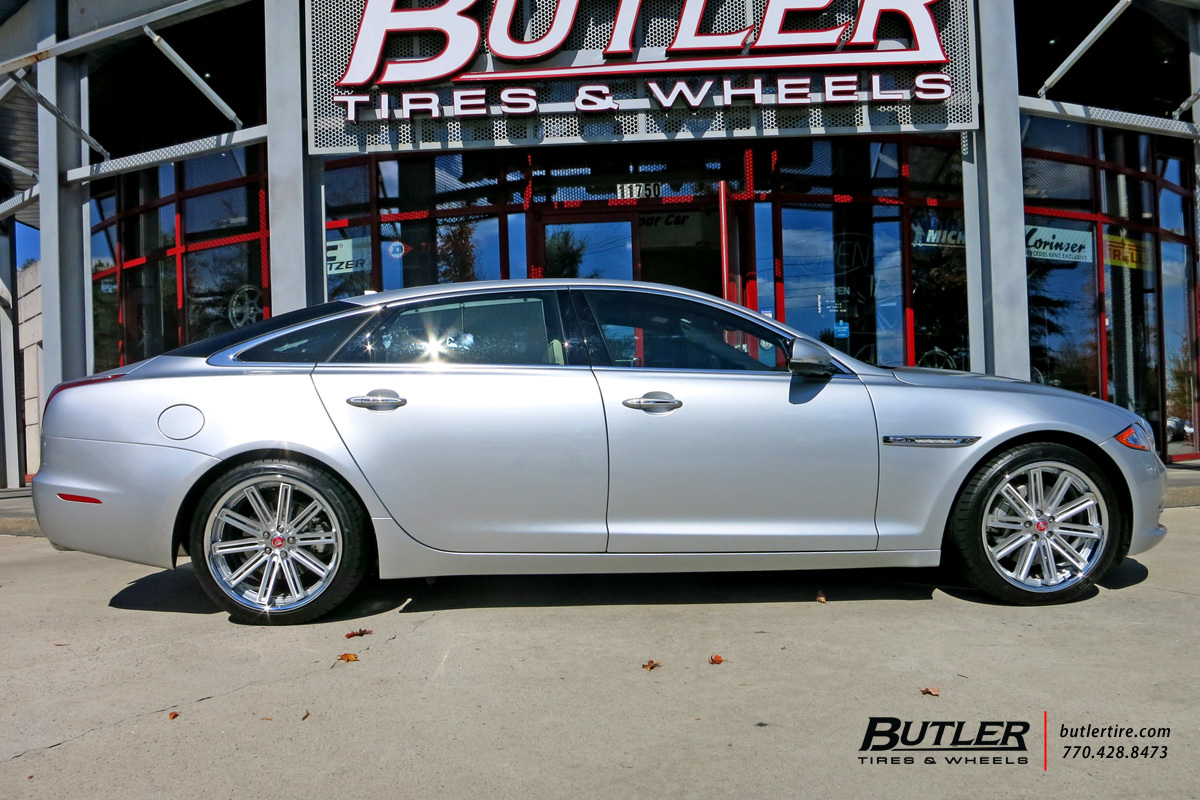 Jaguar XJL with 20in Coventry Warwick Wheels