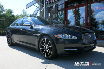 Jaguar XJL with 20in Savini BM12 Wheels