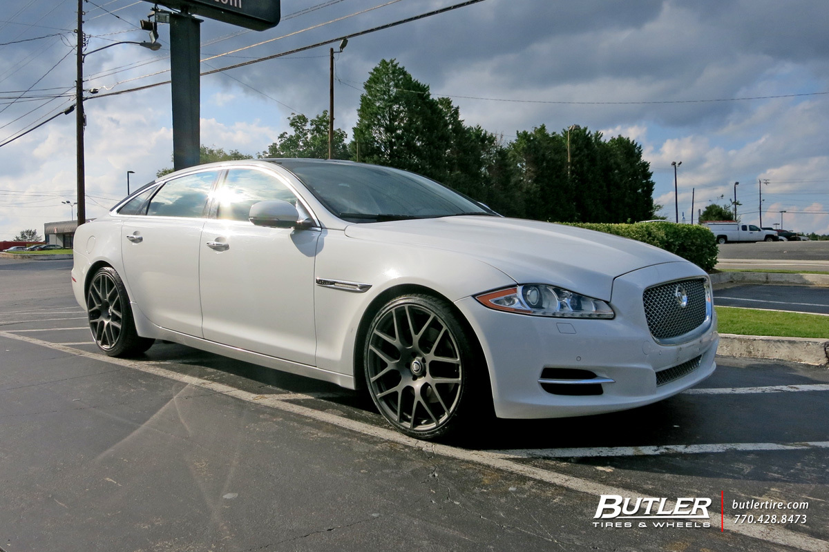 dub o face machined x picture rims black wheels and xf jaguar