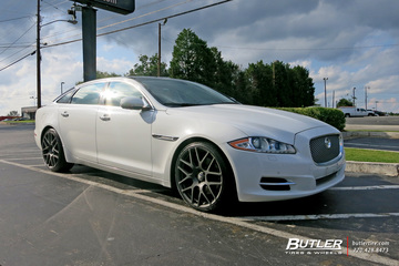 Jaguar XJL with 21in TSW Nurburgring Wheels