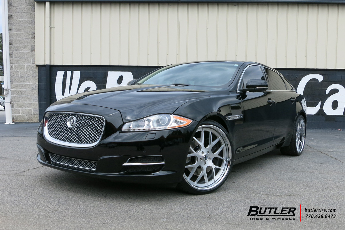 Jaguar XJL with 22in Asanti AF174 Wheels