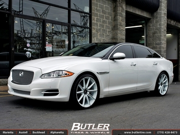 Jaguar XJL with 22in Lexani CSS10 Wheels