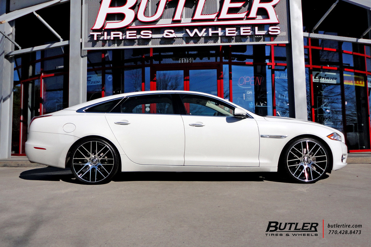 Jaguar XJL with 22in Lexani CSS8 Wheels