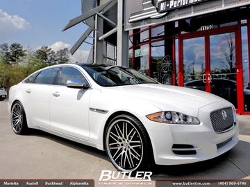 Jaguar XJL with 22in Lexani CVX 44 Wheels