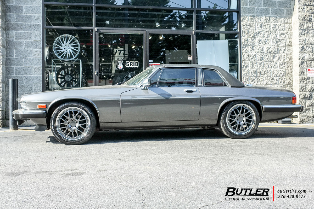 Jaguar XJS with 18in TSW Valencia Wheels