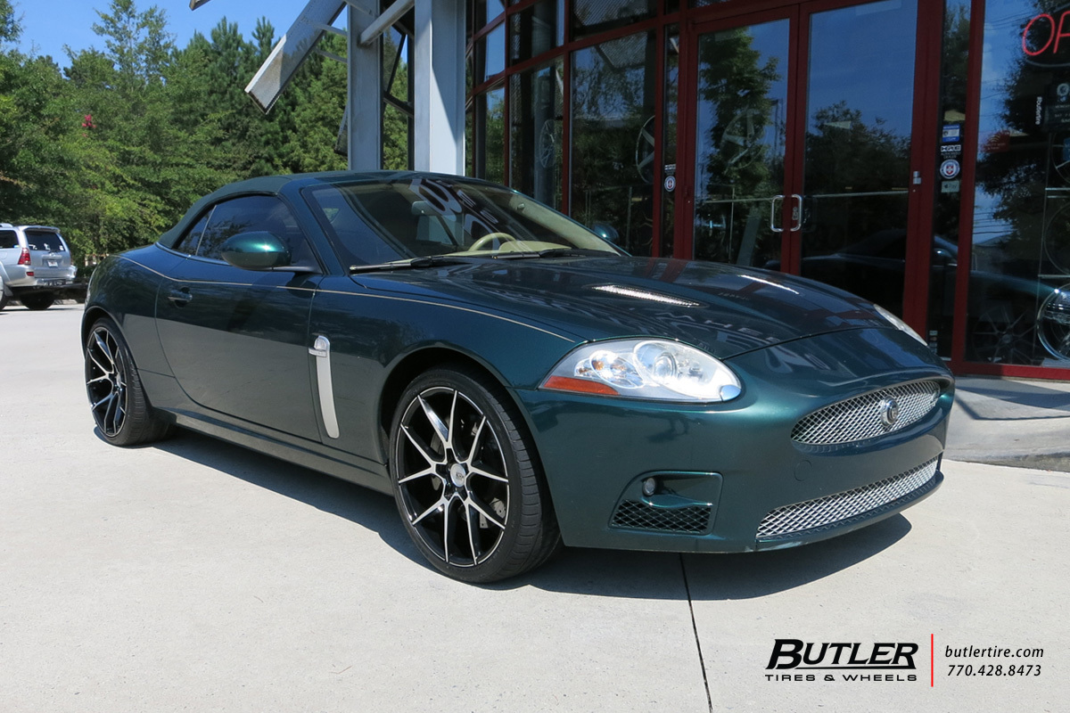 Jaguar XK with 20in Savini BM14 Wheels