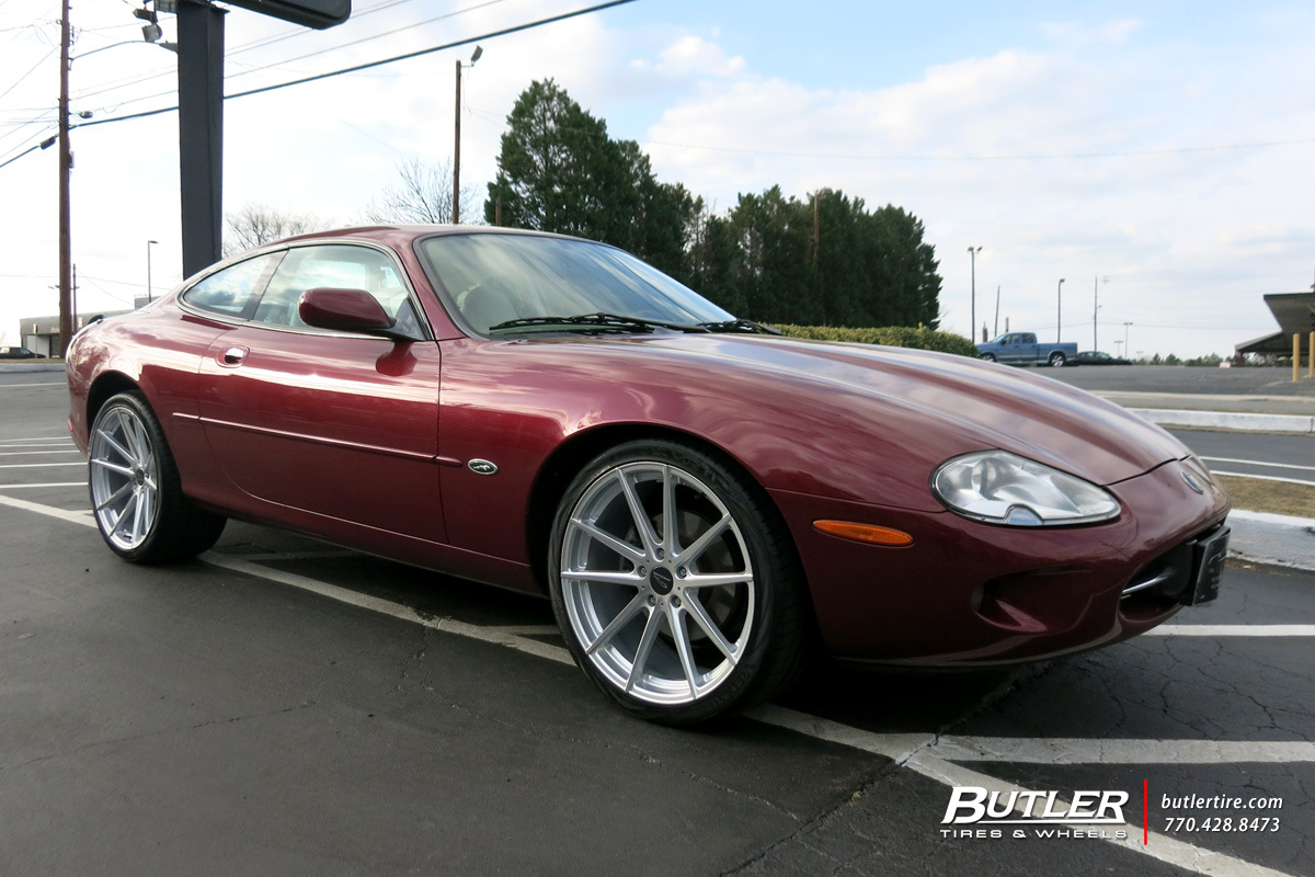 Jaguar XK with 20in TSW Bathurst Wheels