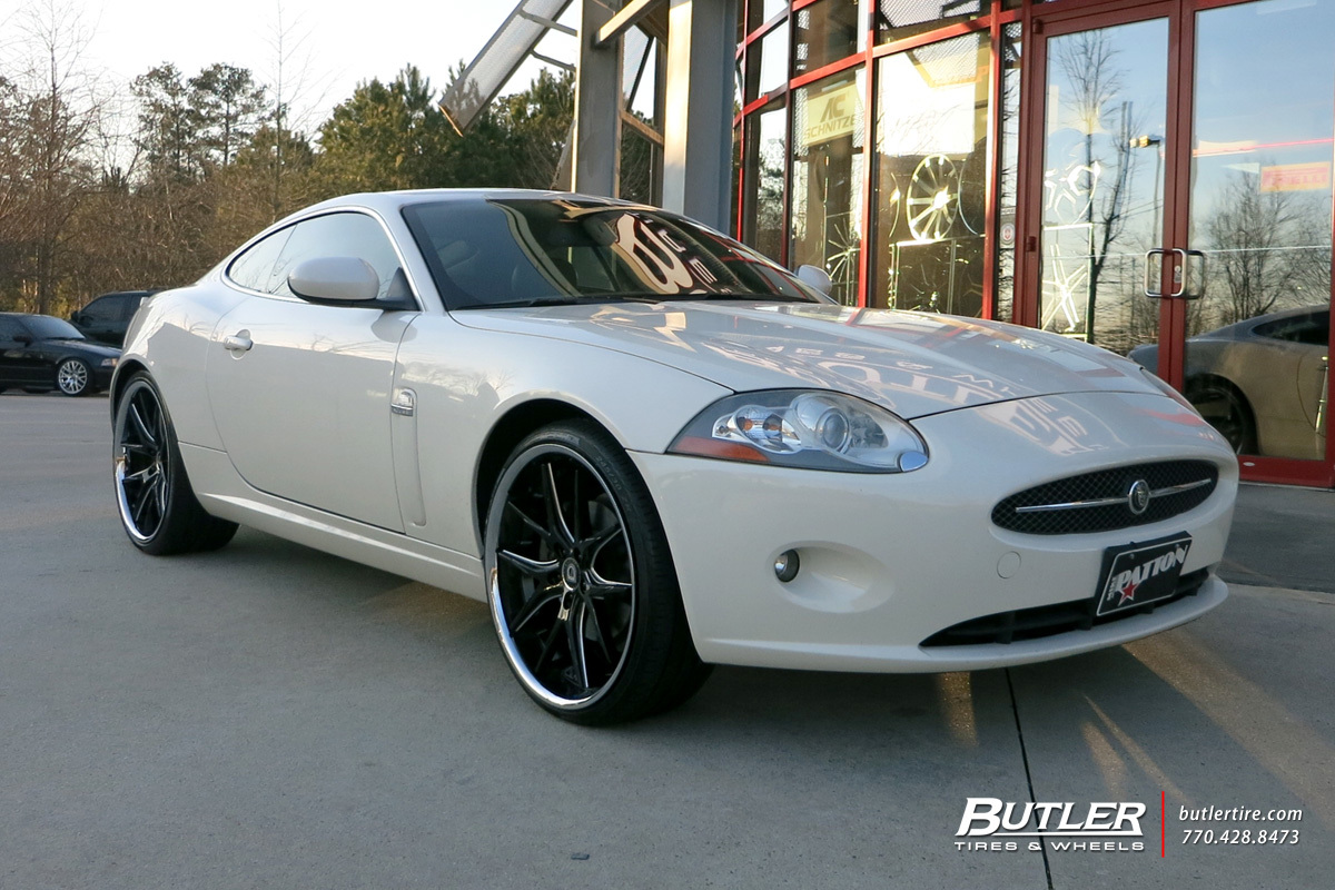 Jaguar XK with 22in Lexani R-Twelve Wheels