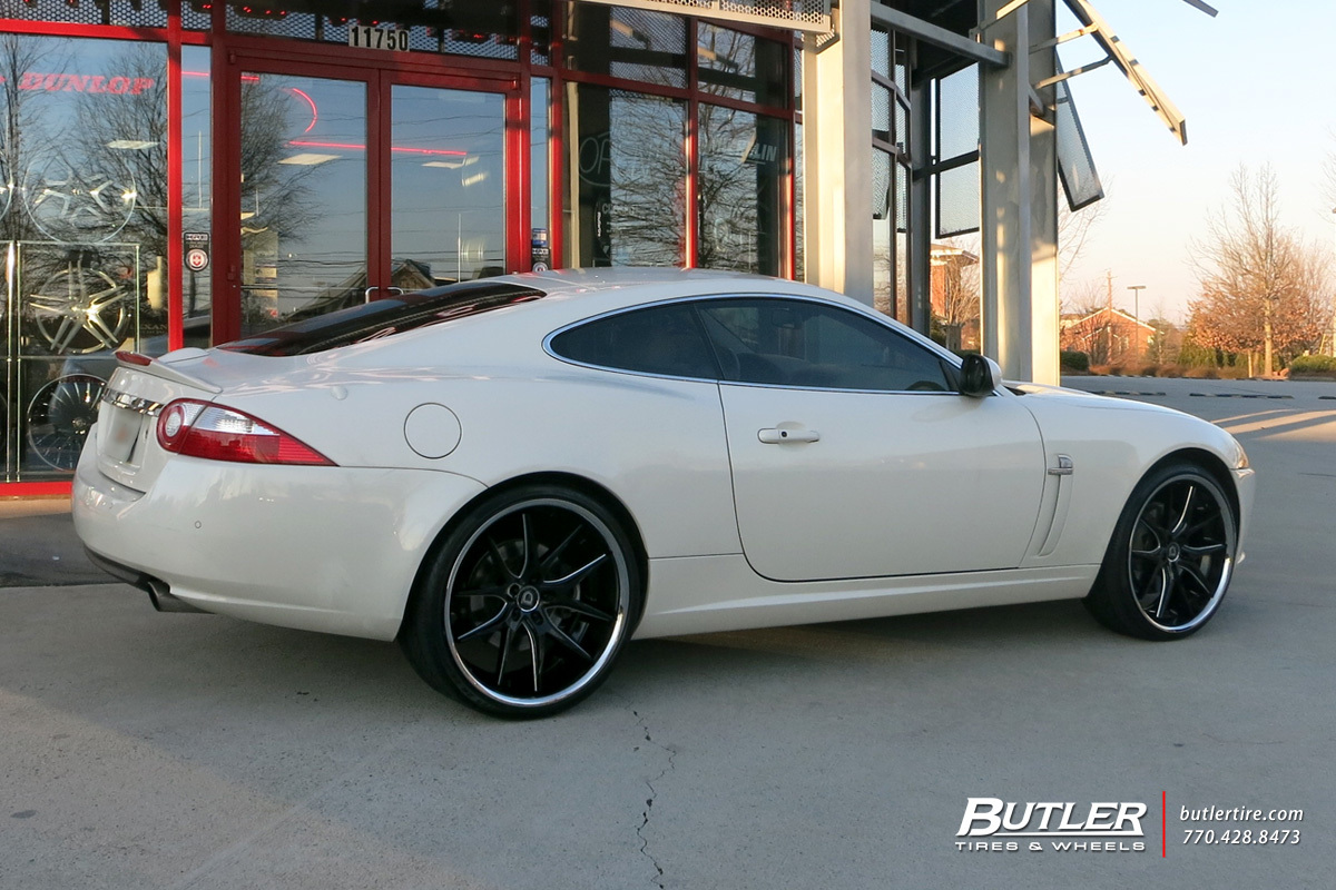 Jaguar XK with 22in Lexani R-Twelve Wheels exclusively from