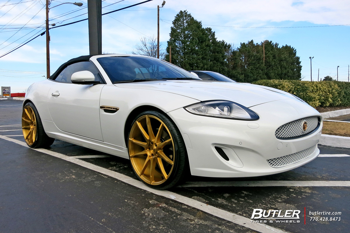 Jaguar XK with 22in Savini BM12 Wheels exclusively from