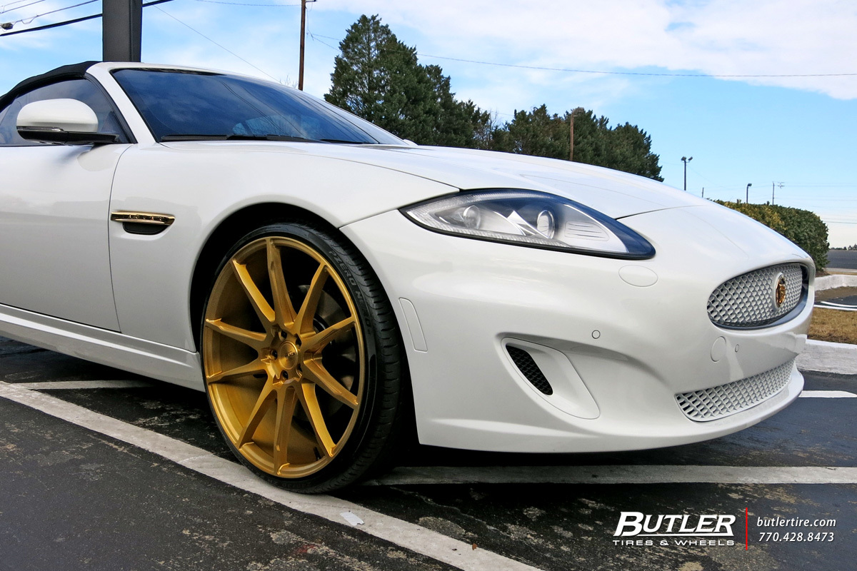Jaguar XK with 22in Savini BM12 Wheels