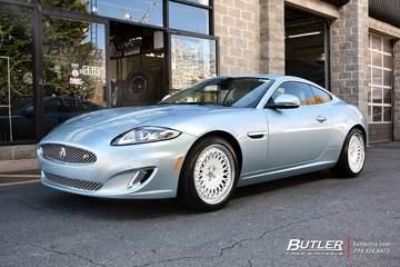 Jaguar XKR with 19in HRE 501 Wheels