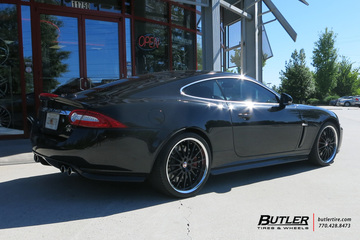 Jaguar XKR with 20in Coventry Whitley Wheels
