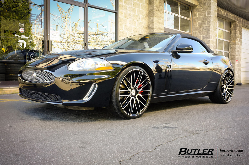 Jaguar XKR with 22in Savini BM13 Wheels exclusively from ...