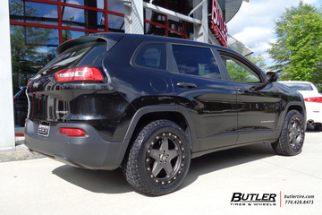 Jeep Cherokee with 18in ATX 194 Wheels