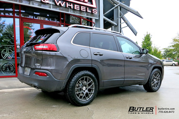 Jeep Cherokee with 18in TSW Nurburgring Wheels