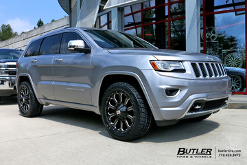 Jeep Cherokee with 20in XD Bomb Wheels
