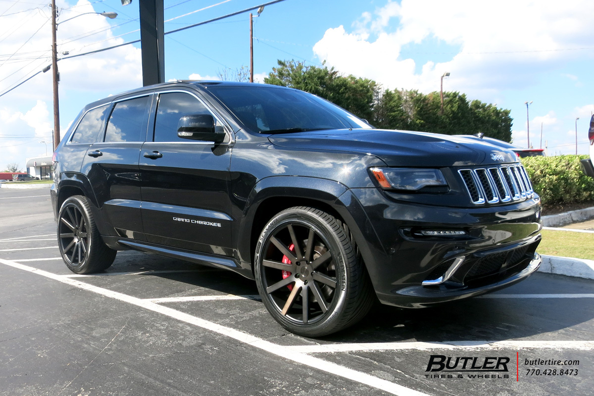 Jeep Cherokee SRT-8 with 22in DUB Shot Calla Wheels
