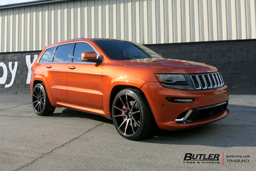 Jeep Cherokee SRT-8 with 22in Savini BM12 Wheels