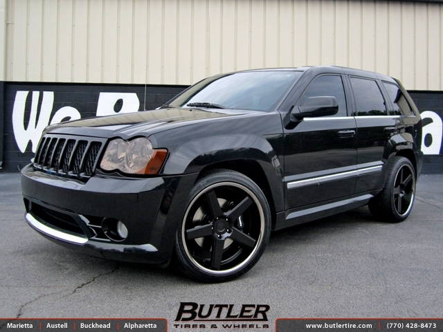 Jeep Cherokee SRT-8 with 22in Niche Nurburg Wheels