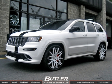 Jeep Cherokee SRT-8 with 24in Forgiato Maglia Wheels