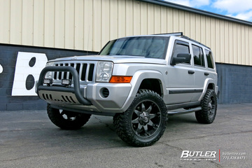Jeep Commander with 20in Fuel Octane Wheels