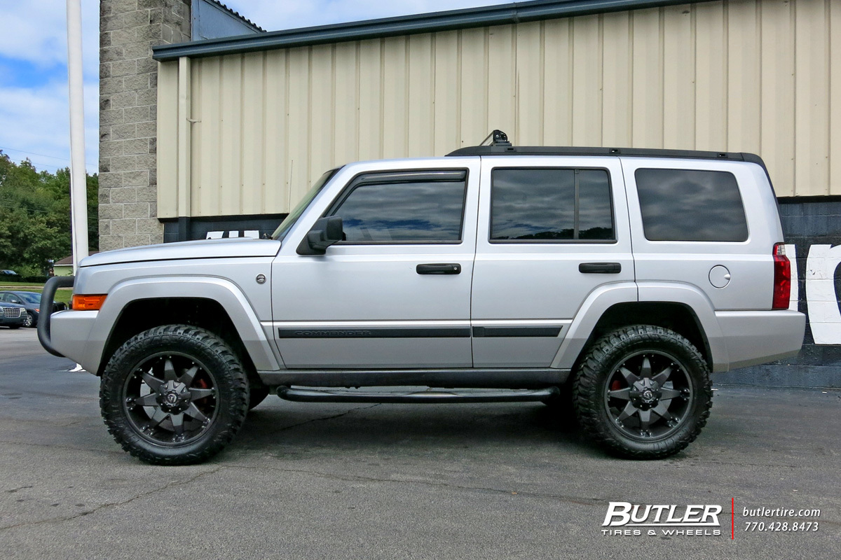 Jeep Commander with 20in Fuel Octane Wheels exclusively ...