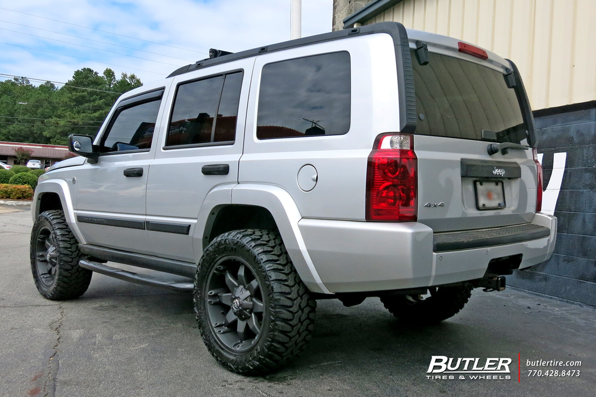 Jeep Commander with 20in Fuel Octane Wheels exclusively from