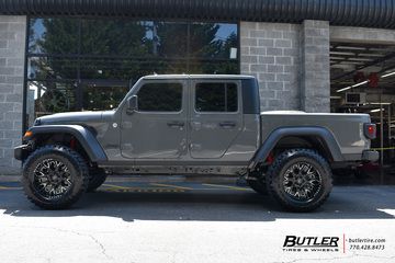 Jeep Gladiator with 20in Black Rhino Grimlock Wheels