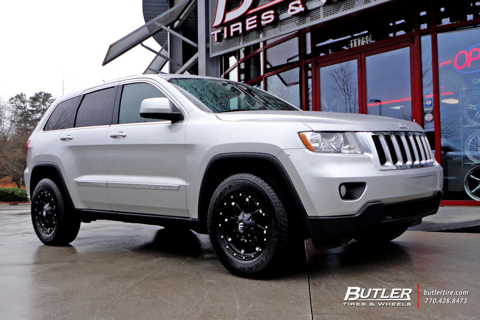 jeep grand cherokee with 17in fuel hostage wheels exclusively from butler tires and wheels in. Black Bedroom Furniture Sets. Home Design Ideas