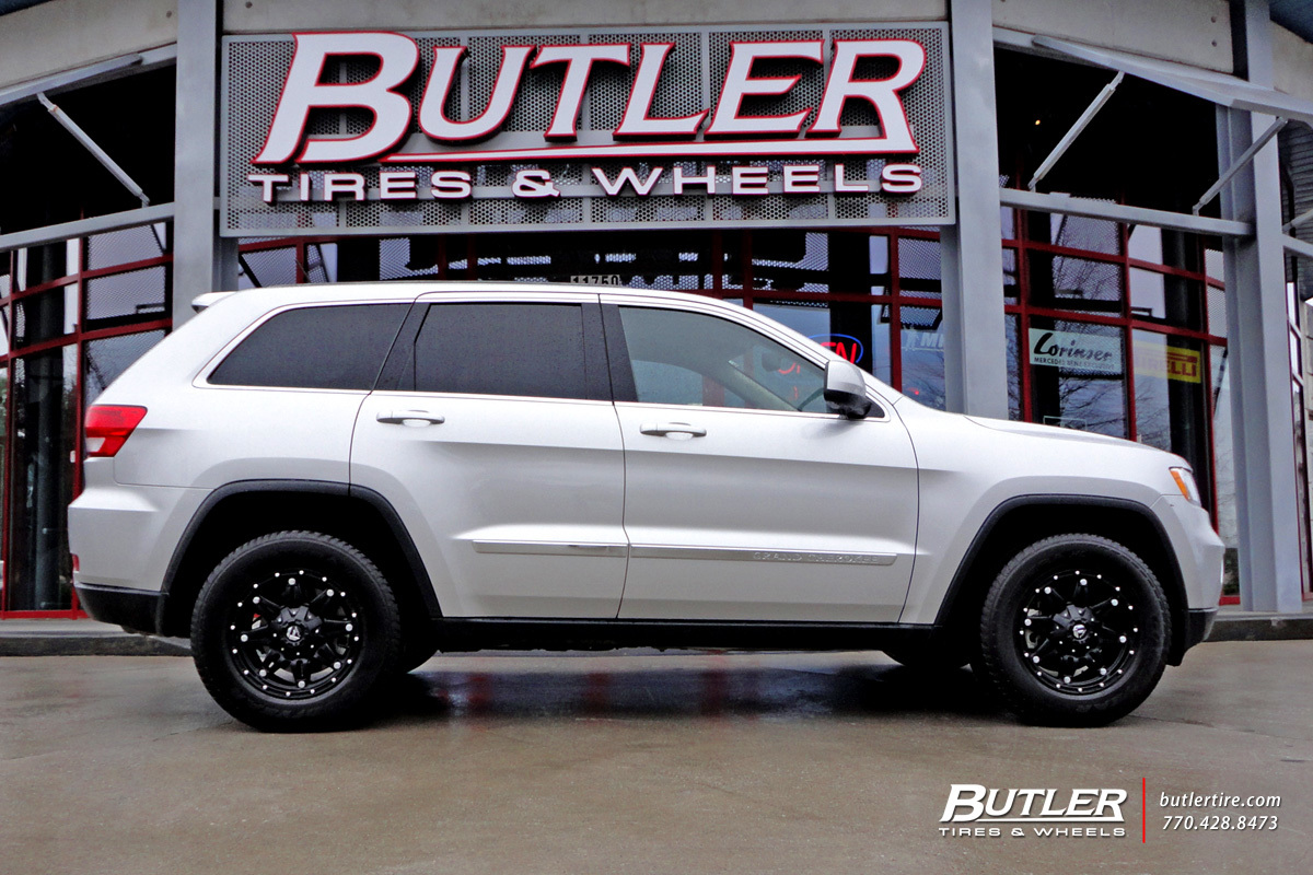 Jeep Grand Cherokee with 17in Fuel Hostage Wheels ...