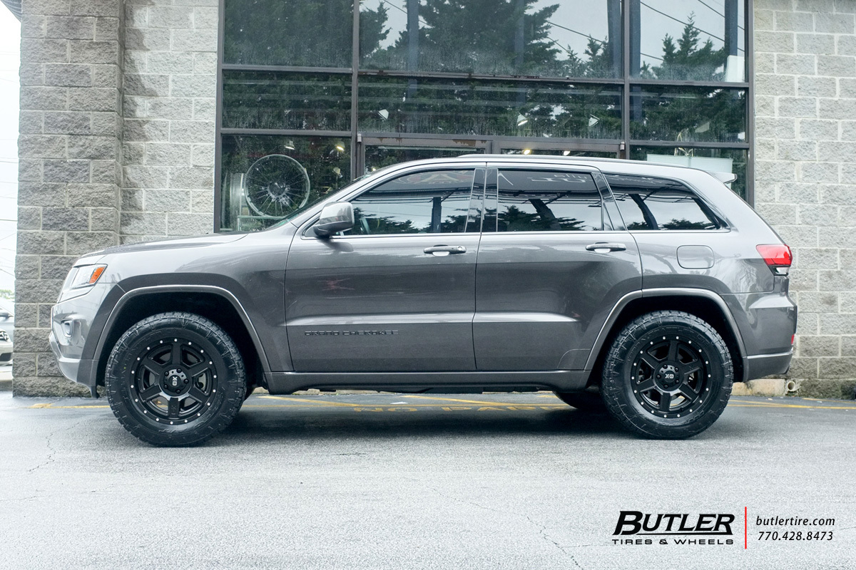 Jeep Grand Cherokee with 18in XD Fusion Wheels
