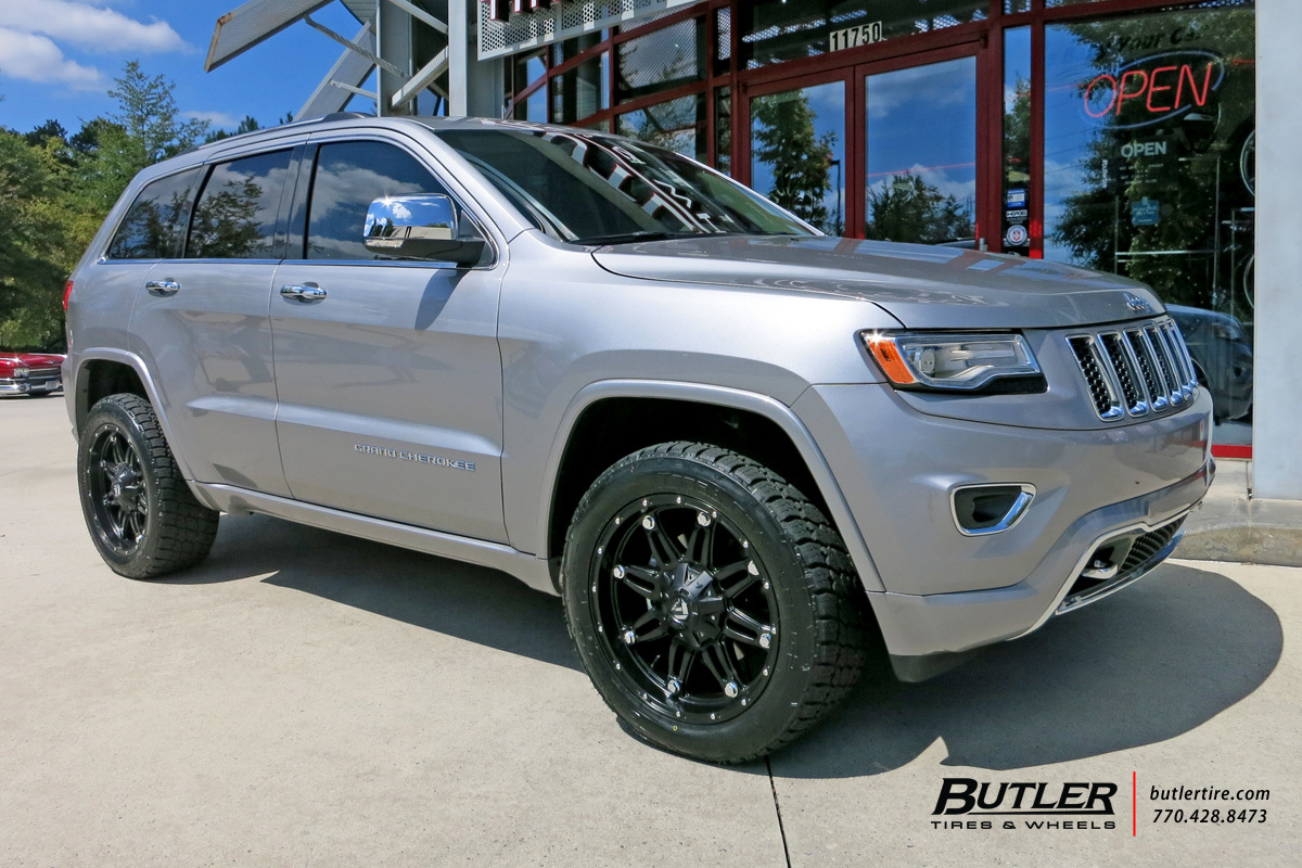jeep grand cherokee with 20in fuel hostage wheels exclusively from butler tires and wheels in. Black Bedroom Furniture Sets. Home Design Ideas