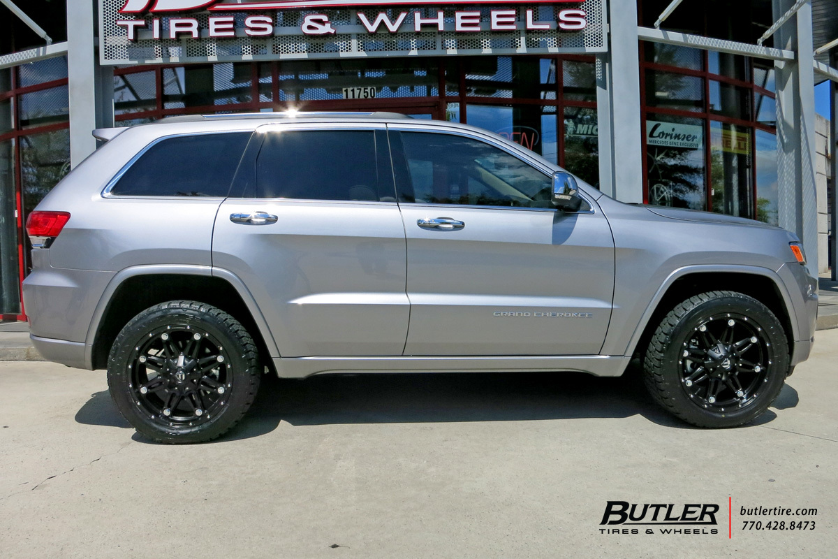 Jeep Grand Cherokee Tires >> Jeep Grand Cherokee With 20in Fuel Hostage Wheels