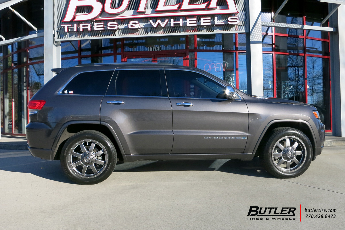 Audi Of Atlanta >> Jeep Grand Cherokee with 20in Fuel Maverick Wheels exclusively from Butler Tires and Wheels in ...
