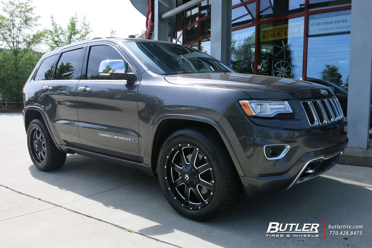 Jeep Grand Cherokee with 20in Fuel Maverick Wheels ...