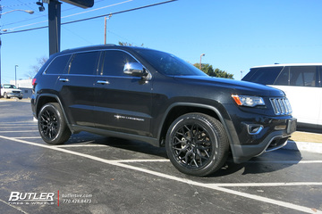 Jeep Grand Cherokee with 20in Vossen HF-2 Wheels