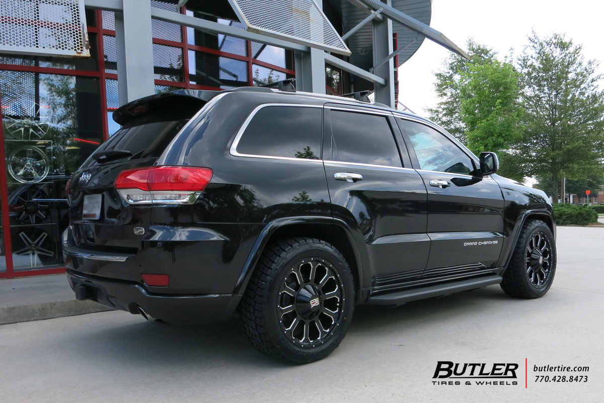 Jeep Grand Cherokee with 20in XD Bomb Wheels