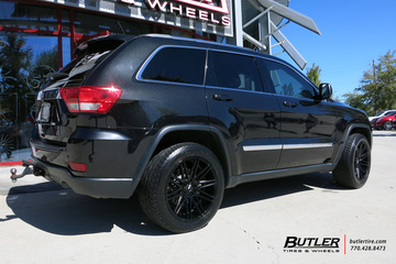 Jeep Grand Cherokee with 20in XO Milan Wheels