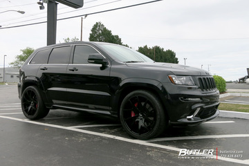 Jeep Grand Cherokee with 22in Forgiato F2 23 Wheels