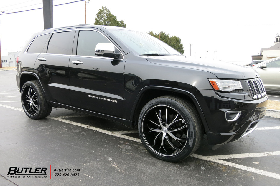 Jeep Grand Cherokee With In Lexani Polaris Wheels Large on Jeep Grand Cherokee Alignment