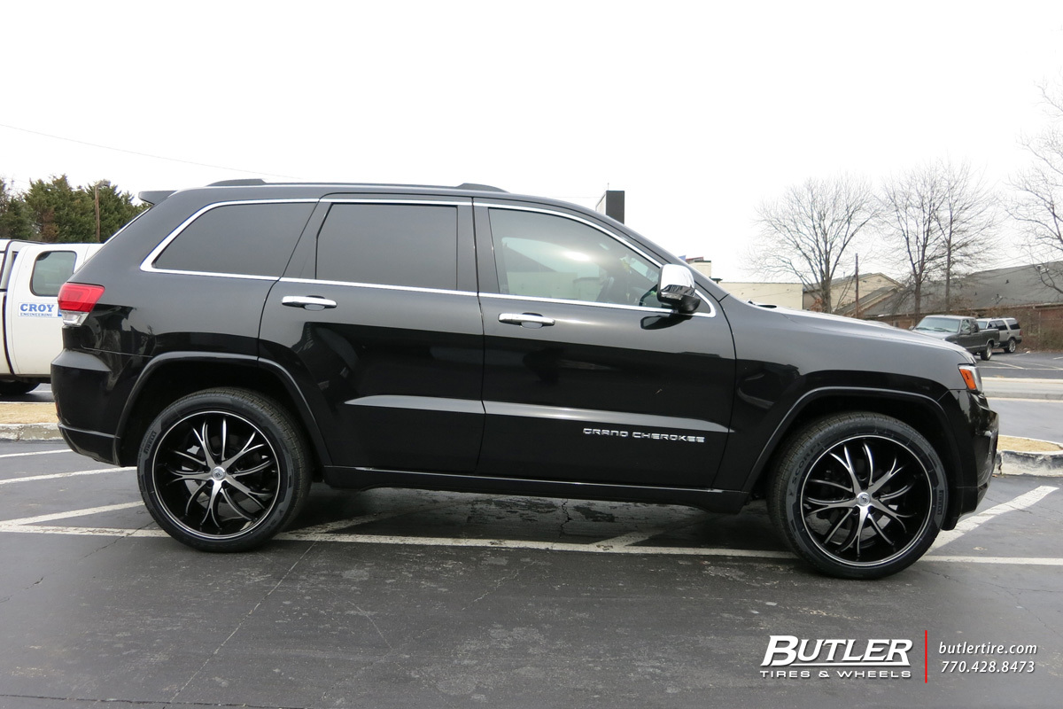 Jeep Grand Cherokee With 22in Lexani Polaris Wheels