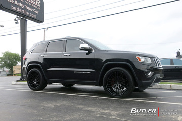 Jeep Grand Cherokee with 22in Lexani R-Twenty Wheels