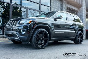 Jeep Grand Cherokee with 22in Savini BM11 Wheels