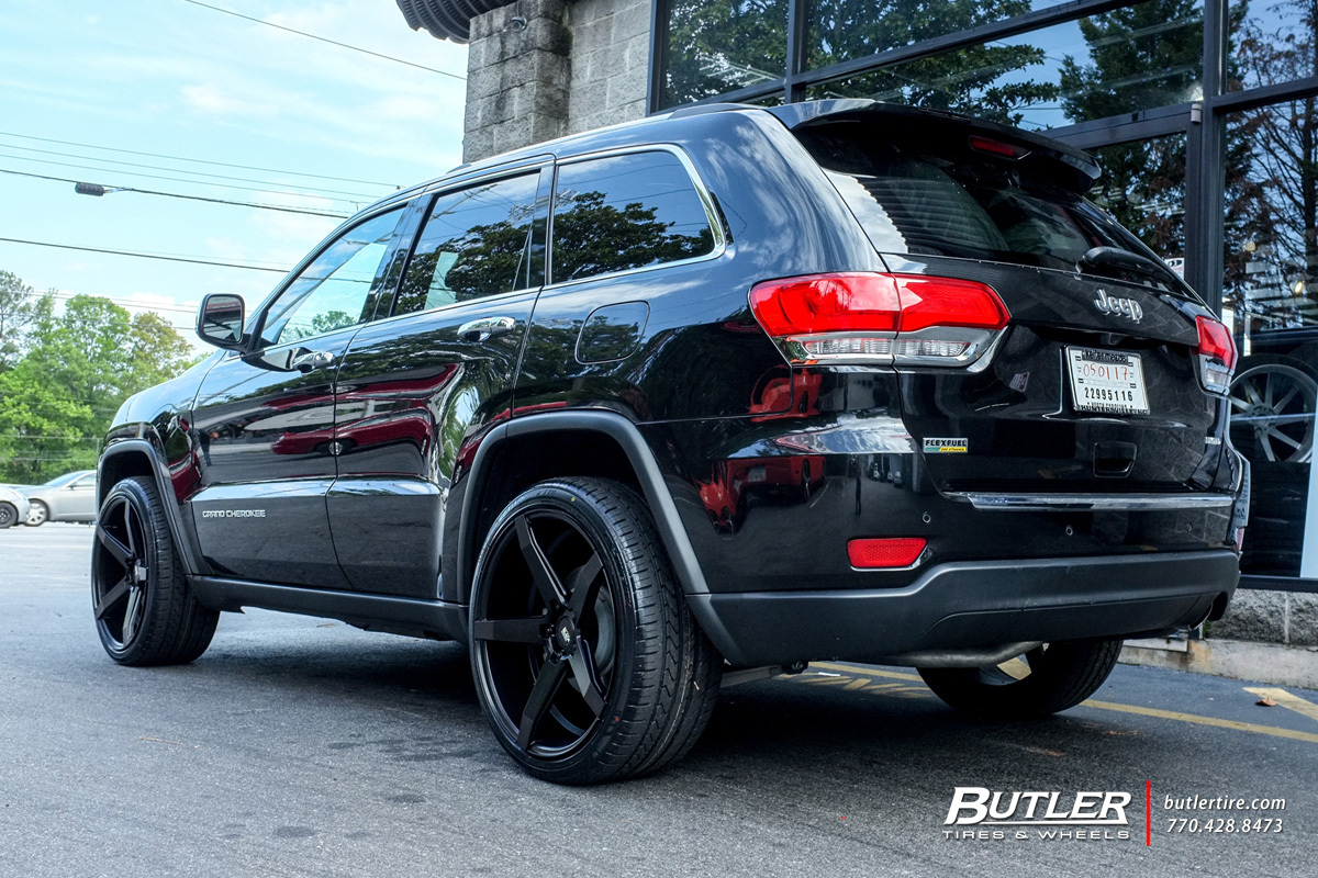 jeep grand cherokee with 22in savini bm11 wheels exclusively from butler tires and wheels in. Black Bedroom Furniture Sets. Home Design Ideas