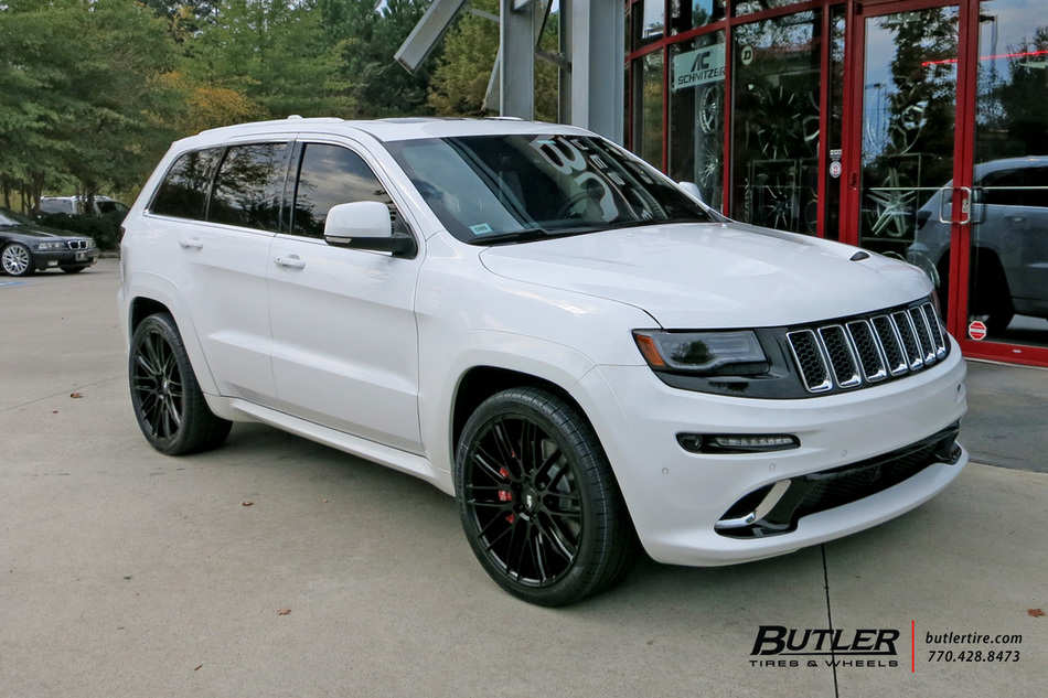 Jeep Grand Cherokee with 22in Savini BM13 Wheels exclusively from Butler Tires and Wheels in ...