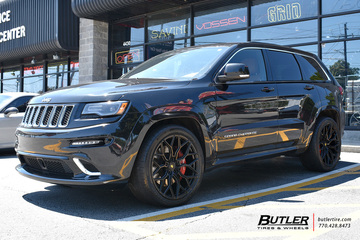 Jeep Grand Cherokee with 22in Vossen S17-01 Wheels