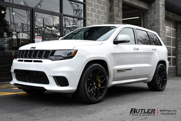 Jeep Grand Cherokee Trackhawk with 22in Vossen S17-01 ...